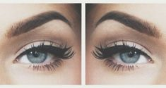 gorgeous eyes                                                   #makeup #eyes