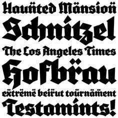 Blaktur: Ken Barber, Typographica Typefaces 2007