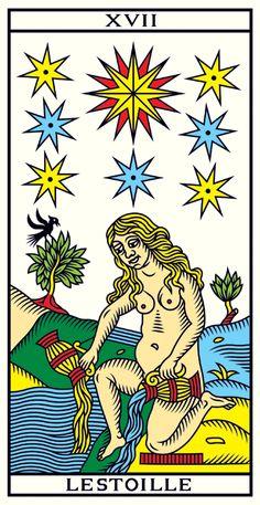 XVII LESTOILLE • Tarot of Marseilles Millennium Edition