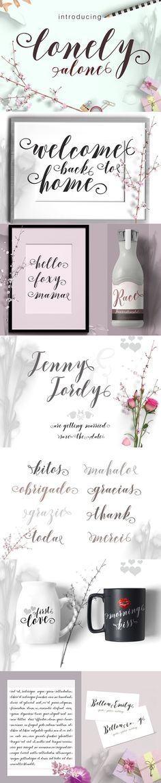 Lonely alone 30%off. Wedding Card Templates