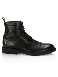 Saks Fifth Avenue Collection Leather Ankle Combat Boots In Black Ankle Combat Boots, Fifth Avenue Collection, Saks Fifth Avenue, Black Boots, Mens Fashion, Leather, Shopping, Shoes, Moda Masculina