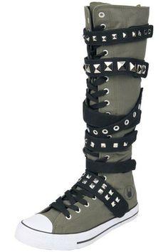 ea66ce5765 Las 29 mejores imágenes de Zapatillas, Botas, Tacones... ¡Rock!. en ...