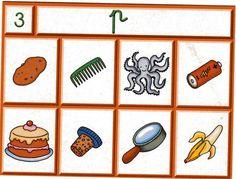 Dictats muts per sons Phonological Awareness, Educational Activities, Kids Education, Literacy, Kindergarten, Preschool, Playing Cards, Language, Album