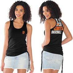 San Francisco Giants Tank Top by G-III - MLB.com Shop $24.99....gotta have it!