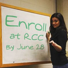 Enroll in a summer class at RCC by June 28. Got it?  http://ift.tt/28MUICc #rccsummer  #transferclass #rappahannock #community #college #comm_college #summer #newkent #kinggeorge #warsaw #gloucester #nnk #northernneck #northernneckva #middlepeninsula #midpenva
