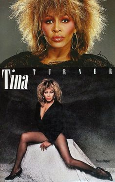 My husband's favorite wild woman...  Tina Turner Private Dancer (1984)