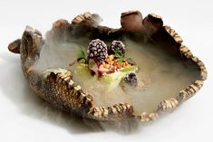 To please the palate, chef Dominique Crenn first captivates the eye