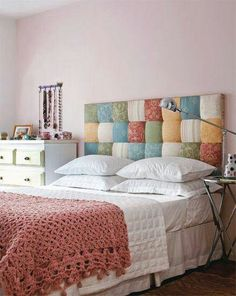 Cabecero patchwork
