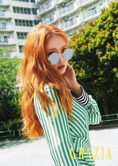 Singer HyunA recently posed for 'Grazia's July issue where she talked about her solo comeback.  The concept for her photo shoot was 'Lazy Su…