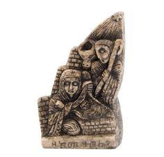 Presépios Internacionais  : Presépio em mármore proveniente do Mosteiro de…