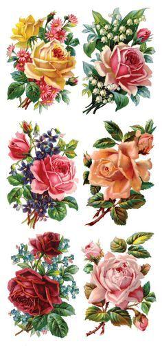 30 Ideas flower tattoo vintage decoupage for 2019 Vintage Labels, Vintage Cards, Vintage Paper, Vintage Images, Floral Vintage, Vintage Flowers, Vintage Prints, Vintage Blume Tattoo, Vintage Flower Tattoo