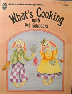 What's Cooking Decorative Painting Book by by CurlicueCreations