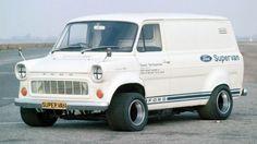 Ford Transit Supervan: Transporter mit im Laderaum Ford Lincoln Mercury, Ford Transit, Mk1, Big Trucks, Ford Trucks, Will Turner, Transit Custom, Le Mans, Auto Motor Sport