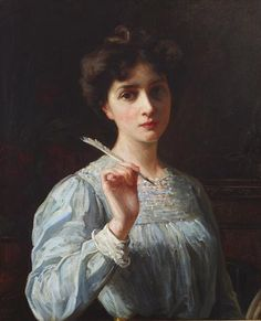 Study of a Young Woman by Paul Peel