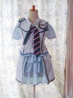 AKB48 Ponytail To Shushu costume, made by kyorinday.blogspot.com