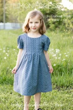 The Limon Dress by Wilow & Co. Little Girl Dresses, Little Girls, Girls Dresses, Summer Dresses, Free Spirit Fabrics, Living Oils, New Job, Stew, Gray