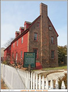 The Shiplap House c. 1715 on Pinkney Street in the Annapolis Maryland Historic District. Photograph taken on March 14th 2013. To see a full size version of this photograph and the Annapolis Experience Blog article click on the Visit Site button. Image and article Copyright © 2015 G J Gibson Photography LLC.