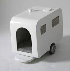out the Caravan dog house,