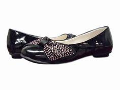 Black Ballerina Shoe w/bow