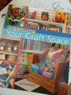 craft space organization has a how to book? sign me up!