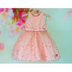 Vestido de Festa Infantil Maria Flor Petit Cherie