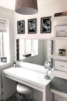 Room Ideas Bedroom, Diy Bedroom Decor, Ikea Room Ideas, Room Ideias, Dressing Room Decor, Beauty Room Decor, Sewing Room Decor, Aesthetic Room Decor, Modern Room Decor
