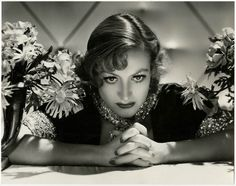 Rare 1933 Large Joan Crawford Pre-Code George Hurrell High Glamour Photograph NR
