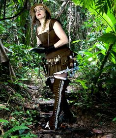 Hera von Hedwig, Botanist and author of Steampunk Family by Steampunk Family the von Hedwigs, via Flickr