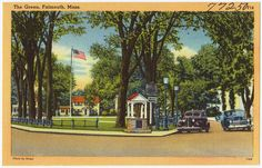 The Green, Falmouth, Mass. by Boston Public Library, via Flickr