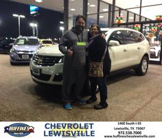 https://flic.kr/p/C6ZvcN | Happy Anniversary to Mike on your #Chevrolet #Traverse from Henry Boyd at Huffines Chevrolet Lewisville | deliverymaxx.com/DealerReviews.aspx?DealerCode=UBM1