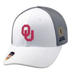 wholesale dealer 7ec6c a50e5 Oklahoma Sooners Top of the World College Football Playoff 2015 Orange Bowl  Bound Adjustable Hat - White
