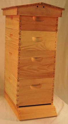 Garden Honey Bee Hive