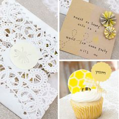 oh little honey bee  -- this is a birthday party, but would be such a cute baby shower theme!