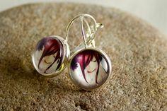 Red Hair Girl / Earrings