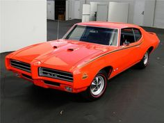 "1969 PONTIAC GTO ""THE JUDGE"" #HastingsPinPals"