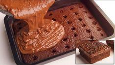 Jednoduchý dierkovaný koláč s vôňou kávy: Úžasne šťavnatá piškóta a fantastický krém zo Salka – takú dobrotu nemajú ani v cukrárni! Party Desserts, Party Recipes, Dessert Bars, Tiramisu, Peanut Butter, Food And Drink, Pie, Pudding, Sweets