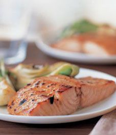 Savoury salmon recipes