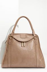 MARC JACOBS 'Wellington' Goatskin Leather Satchel