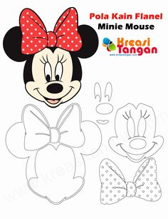 Mickey Mouse Coloring Pages . 27 Best Of Mickey Mouse Coloring Pages . Free Printable Mickey Mouse Coloring Pages for Kids Baby Mickey Mouse, Mickey Mouse 1st Birthday, Minnie Mouse Cake, Mickey Party, Minnie Mouse Template, Minnie Mouse Coloring Pages, Valentine Coloring Pages, Mouse Crafts, Felt Crafts