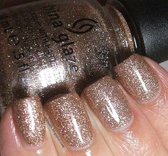 Icy Nails: China Glaze Champagne Kisses: Swatch and Review