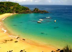 10 Melhores praias do Brasil. Site: Viagem Livre