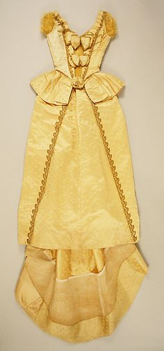 Butterfly Silk Ball Gown, ca. 1887 Charles Frederick Worth