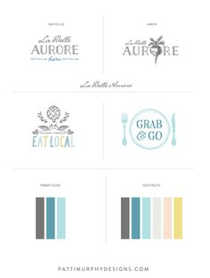La Belle Aurore Bistro Branding on Behance