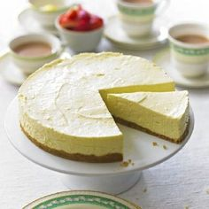 No-Bake Lemon Cheesecake by BBC Good Food