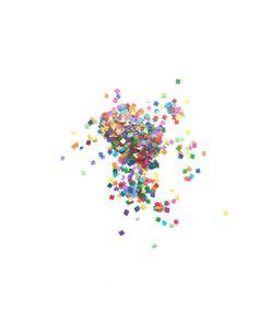 Tiny Rainbow Confetti Bomb