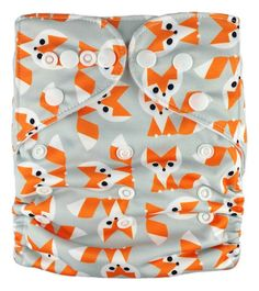 "AnAnBaby Pocket ""Mini Foxes"""