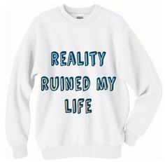 NEW One Direction Reality Ruined My Life by ClarahStyles on Etsy, $28.00