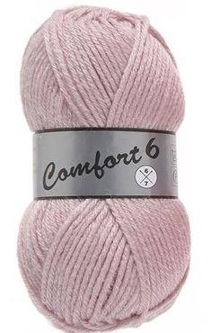 Comfort 6 Pelotte de Laine - Différents coloris