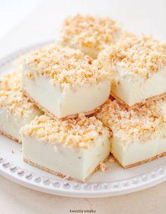 Śnieżny Puch   Kwestia Smaku Cloud Bread, Latte Macchiato, Homemade Cakes, Yummy Cakes, Cheesecake, Easy, Drawing, Kitchen, Living Room