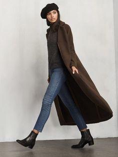 Smart Look // Brunswick Coat // Reformation